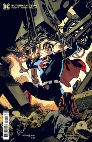 Superman '78 #4 (Chris Samnee Card Stock Cover)