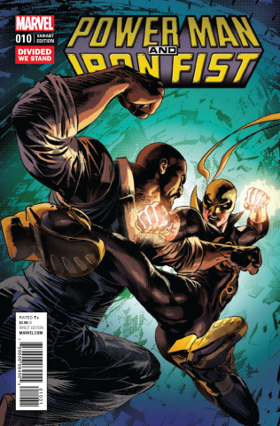 Power Man & Iron Fist #10 (Divided We Stand Cover)