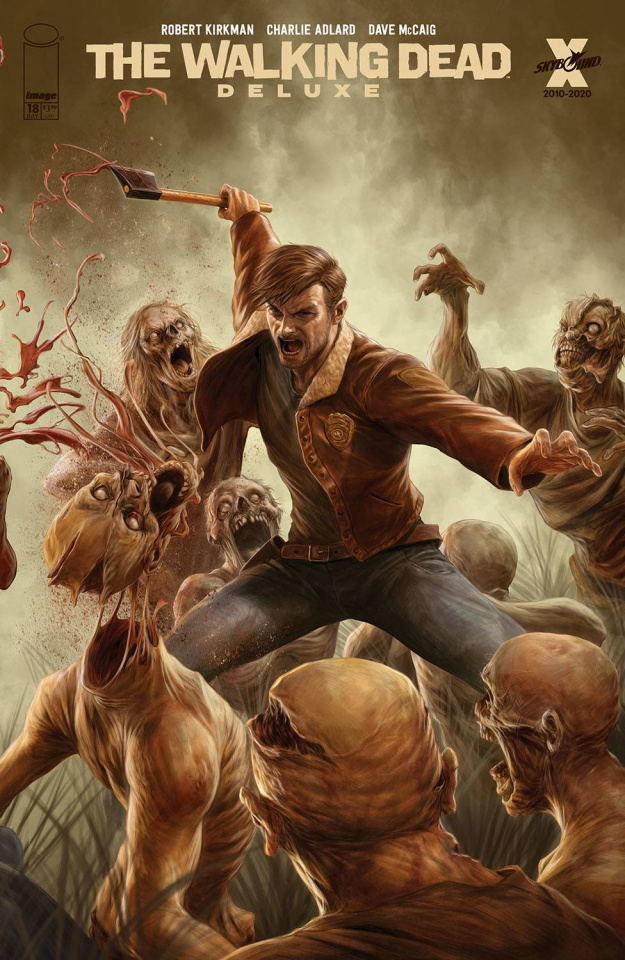 The Walking Dead Deluxe #18 (Rapoza Cover)