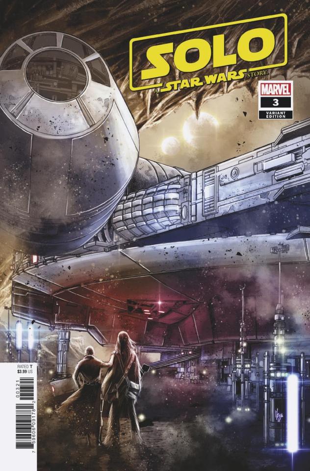 Star Wars: Solo #3 (Checchetto Cover)