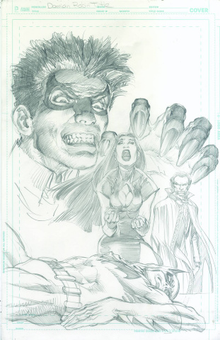 Robin: Son of Batman #9 (Neal Adams Cover)