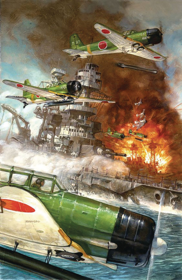 Pearl Harbor: From the Pages of Combat (Dave Dorman Cover)