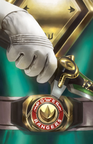 Mighty Morphin' Power Rangers #13 (50 Copy Mercado Foil Cover)