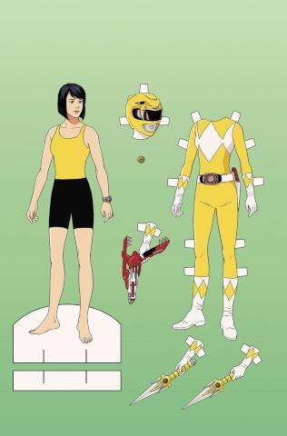 Go, Go, Power Rangers! #2 (Unlock Paper Doll Cover)