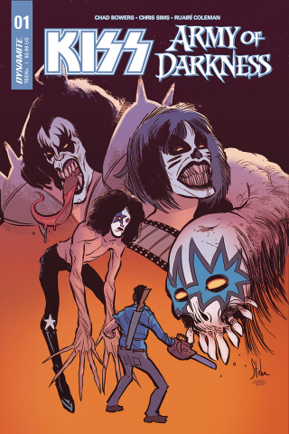 KISS / Army of Darkness #1 (Gene Simmons Signed Cover)