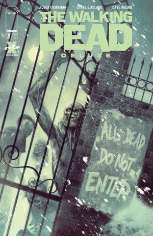 The Walking Dead Deluxe #8 (Tedesco Cover)
