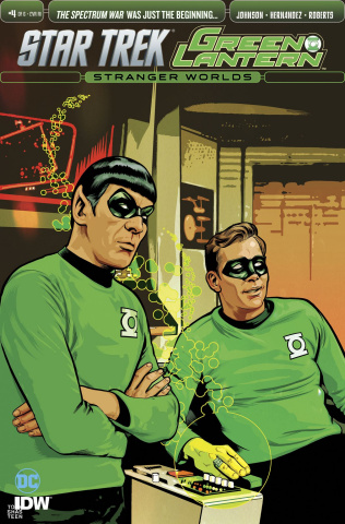 Star Trek / Green Lantern #4 (10 Copy Cover)