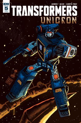 The Transformers: Unicron #5 (20 Copy Francavilla Cover)