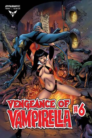 Vengeance of Vampirella #6 (Castro Bonus Cover)