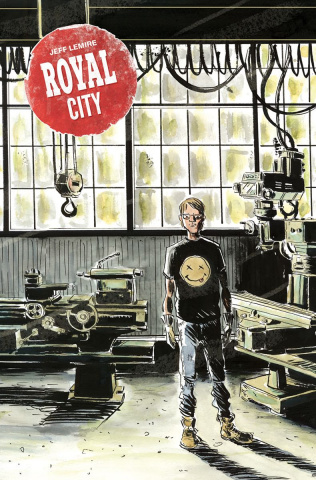 Royal City #9 (Lemire Cover)