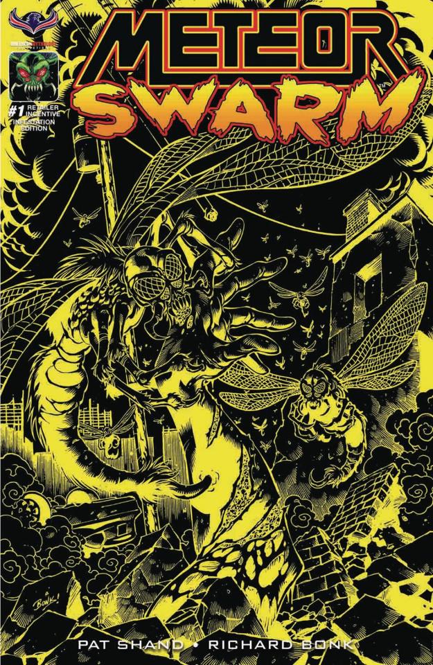 Meteor Swarm #1 (3 Copy Infestation Cover)