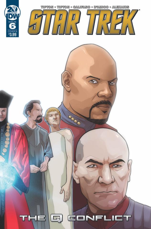 Star Trek: The Q Conflict #6 (Messina Cover)