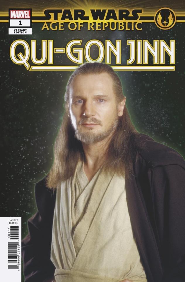 Star Wars: Age of Republic - Qui-Gon Jinn #1 (Movie Cover)