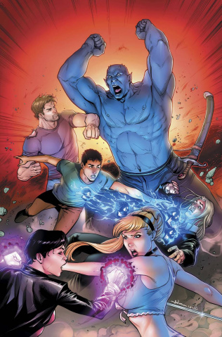 Grimm Fairy Tales #112 (Meloni Bloody Bones Cover)