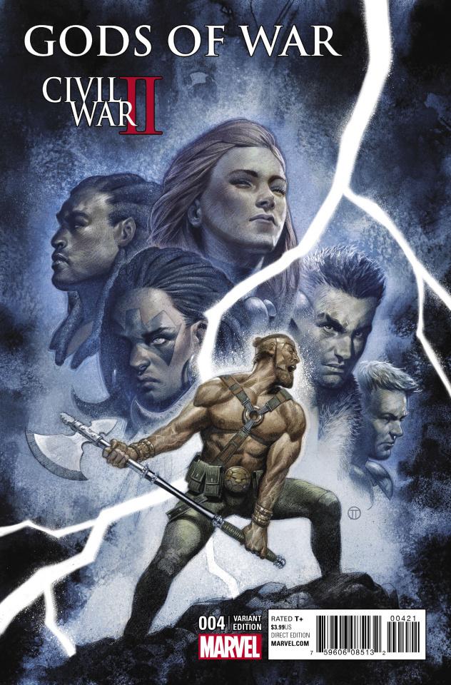Civil War II: Gods of War #4 (Tedesco Cover)