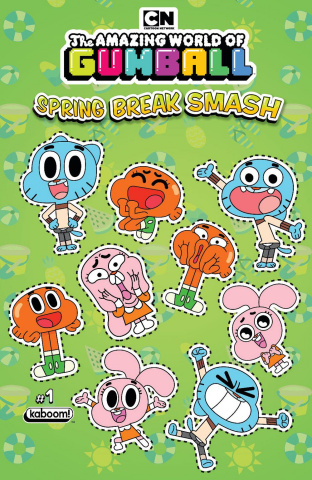 The Amazing World of Gumball: Spring Break Smash #1 (Preorder Cover)