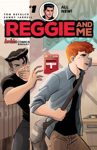 Reggie and Me #1 (Derek Charm Cover)
