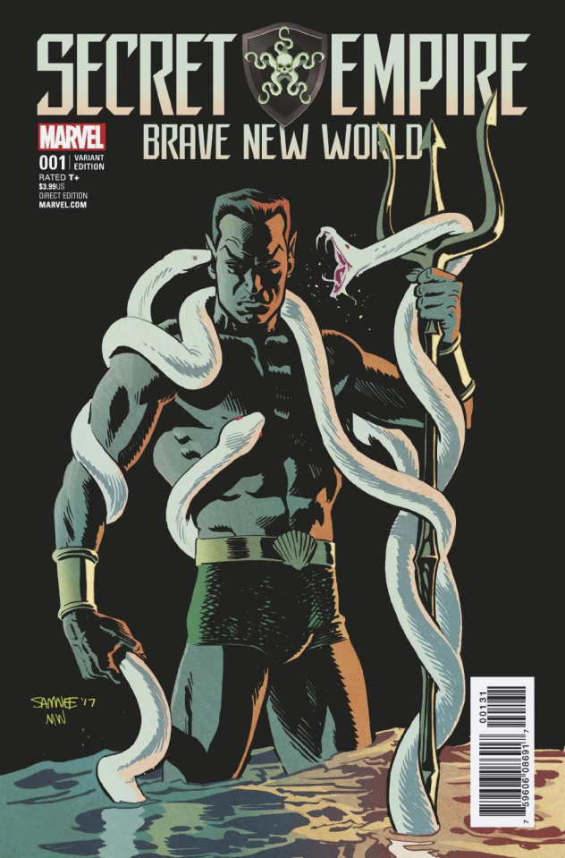 Secret Empire: Brave New World #1 (Samnee Cover)