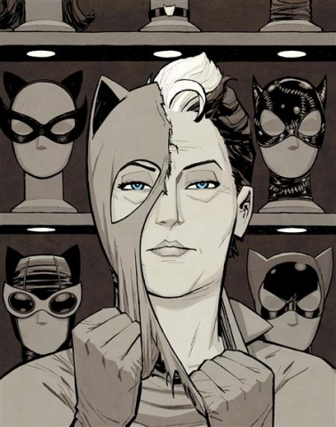 Catwoman: Lonely City #1 (Cliff Chiang Cover)