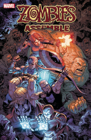 Zombies Assemble #1 (Moore Cover)