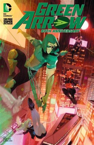 Green Arrow 80Th Anniversary 100-Page Super Spectacular #1 (Simone Di Meo 2010s Cover)
