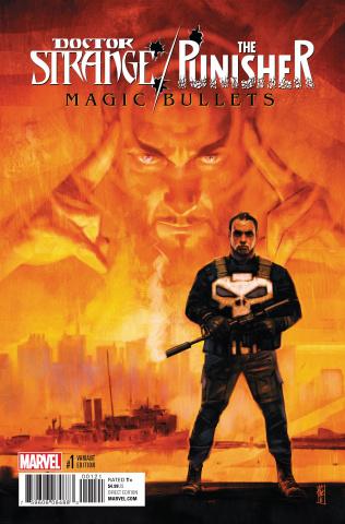 Doctor Strange / The Punisher: Magic Bullets #1 (Maleev Cover)