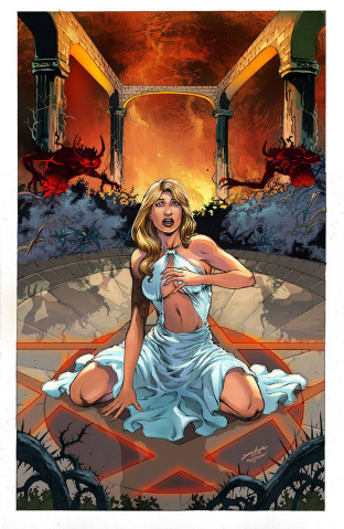 Grimm Fairy Tales: Satan's Hollow #2 (Luis Cover)