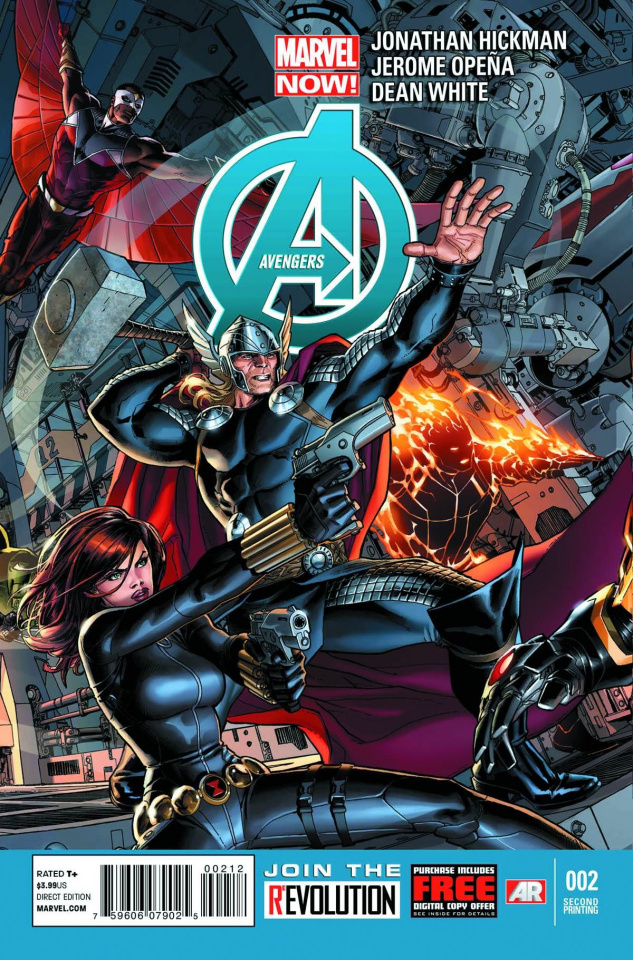 Avengers #2 (2nd Printing)