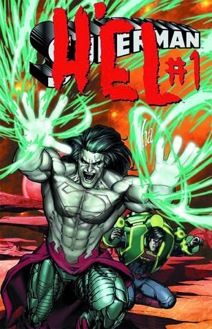 Superman #23.3: H'el Standard Cover