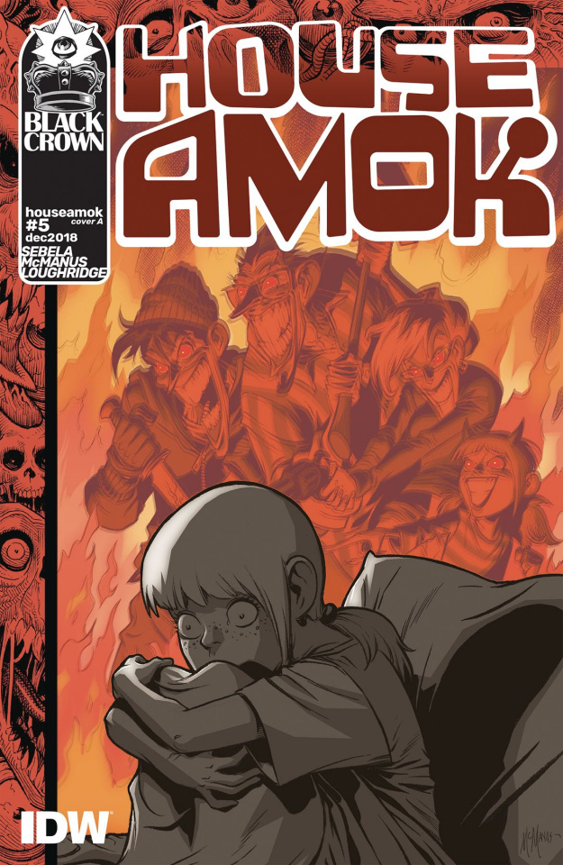 House Amok #5 (McManus Cover)