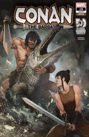 Conan the Barbarian #15 (Skan Cover)