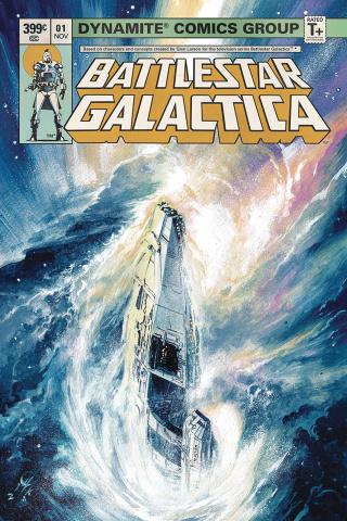 Battlestar Galactica Classic #1 (Rudy Cover)
