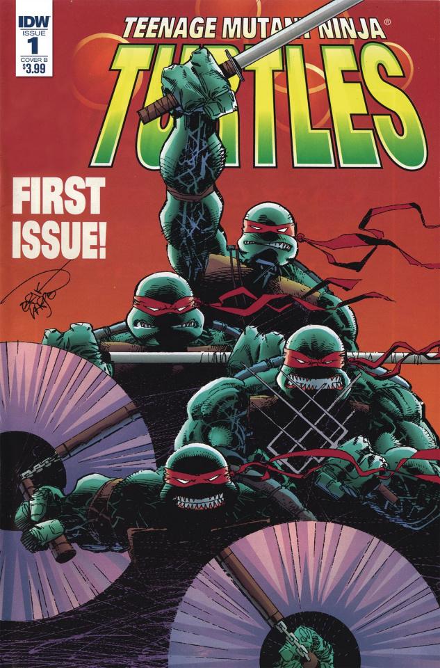 Teenage Mutant Ninja Turtles: Urban Legends #1 (Larsen Cover)