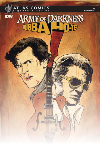 Army of Darkness / Bubba Ho-Tep #1 (Atlas Signed Edition)