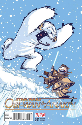 Obi-Wan & Anakin #1 (Young Cover)