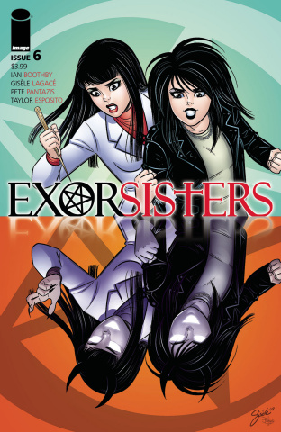 Exorsisters #6 (Lagace & Pantazis Cover)