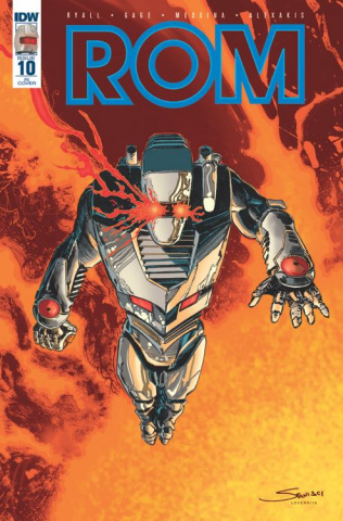 ROM #10 (10 Copy Cover)