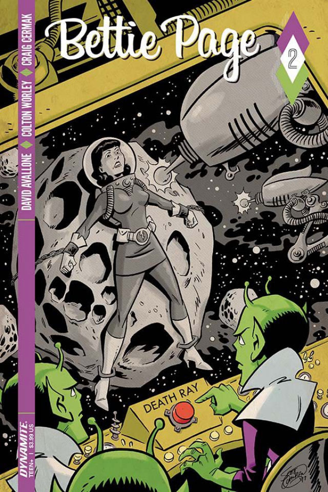 Bettie Page #2 (Chantler Cover)