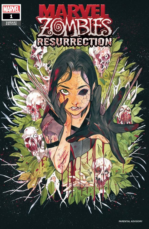 Marvel Zombies: Resurrection #1 (Momoko Cover)