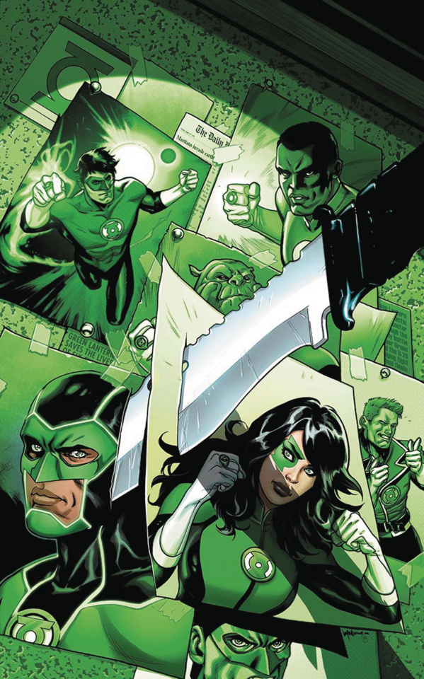 Green Lanterns #9 (Variant Cover)