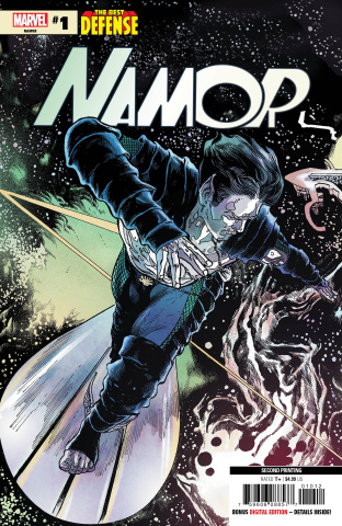 The Defenders: Namor #1 (Magno 2nd Printing)