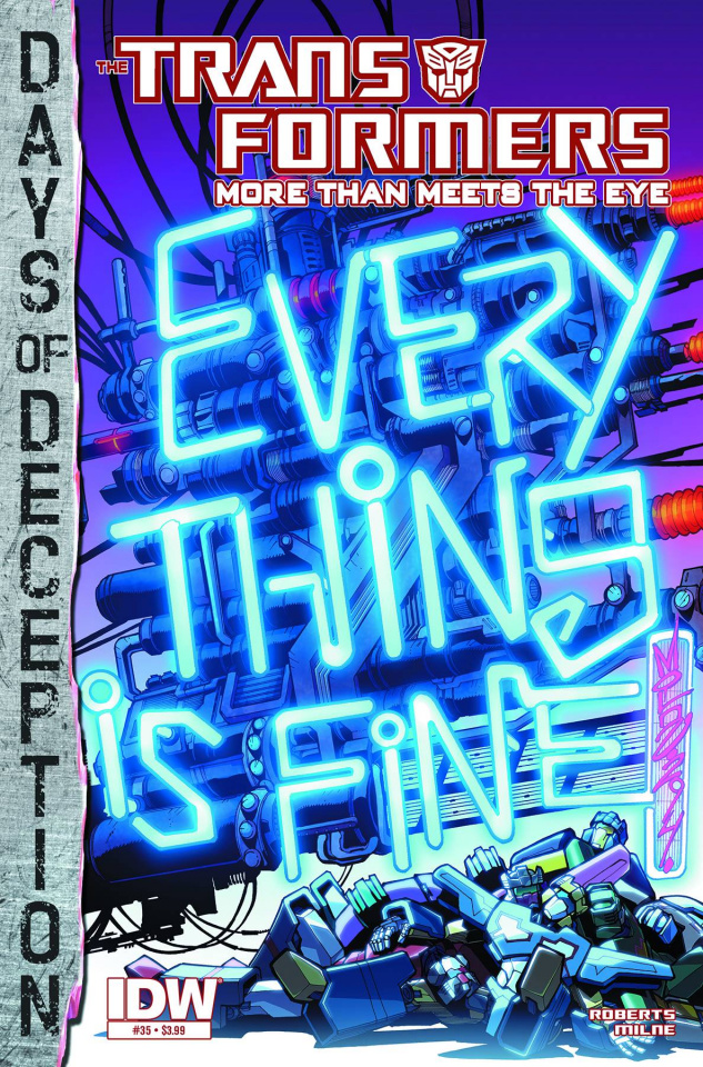 The Transformers: More Than Meets the Eye #35: Days of Deception