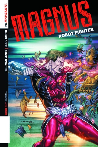 Magnus, Robot Fighter #6 (Smith Subscription Cover)