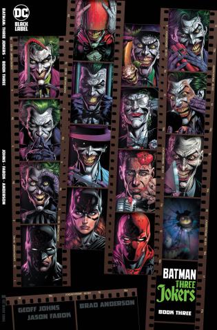 Batman: Three Jokers #3 (Premium 1:450 Contact Cover)