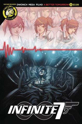 Infinite Seven #5 (Mesa Cover)