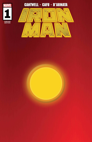 Iron Man #1 (Red Gold Cover)