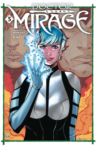 Doctor Mirage #5 (Aneke Cover)