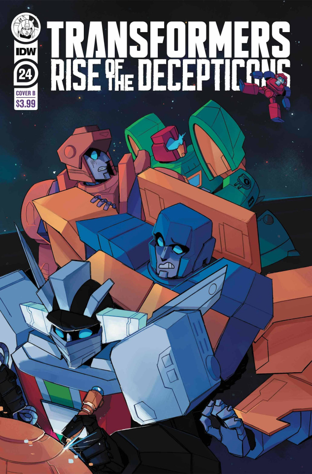 The Transformers #24 (Red Powell Cover)