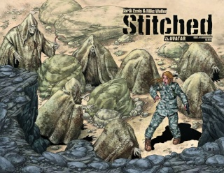 Stitched #4 (Wrap Cover)