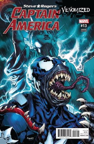 Captain America: Steve Rogers #13 (Raney Venomized Cover)